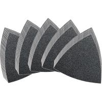 Set of hook and loop abrasive sheets, unperforated, 50 pieces