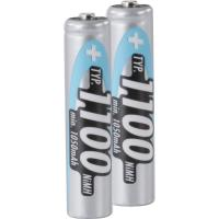 Set of NiMH rechargeable batteries
