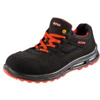 Chaussures basses, noir/rouge LAKERS XXT Low ESD, S1P