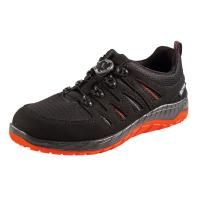 Chaussures basses noires-rouges MADDOX BOA black-red Low ESD, S3