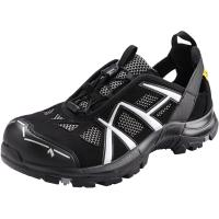Sandals, black/silver Black Eagle Safety 61 Low ESD, S1P