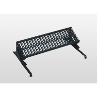 Standing grille anthracite grey RAL 7016