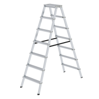 ML double-sided step ladder, double-sided 2x7 steps
