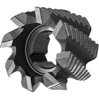 Semi-finishing shell end mill NF uncoated