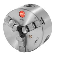 Three-jaw lathe chuck with recessed cast-iron mount  DIN 702-4