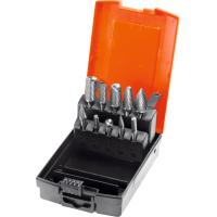 Burr set 10 pieces, Z3 − medium, with chip breaker