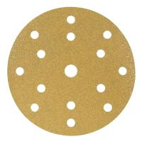 Velour-backed abrasive disc (A) 15 holes ⌀ 150 mm