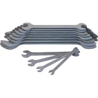 Double open ended spanner set  phosphated