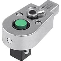 Plug-in ratchet reversible with QuickRelease ejector