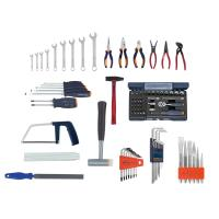 Assembly tool kit, 90 pieces without tool case