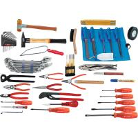 Assembly tool set, 59 pieces without container