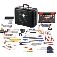 Assembly tool set, 110 pieces with X-ABS toolbox