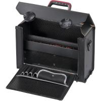 Leather tool case with centre partition