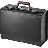 Tool case drop down front and rear, with centre divider