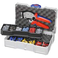 Crimping set, terminal sleeves supplied with a Twistor16 crimping tool