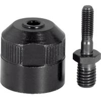Spare nozzle with threaded spigot
