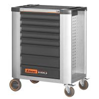 Roller cabinet with full extension drawers 20×16G