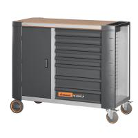 ToolTruck mobile workbench with bamboo worktop 20×16G