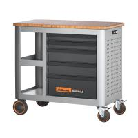 Mobile workbench with 5 drawers, can be pulled out from only one side 20×16G