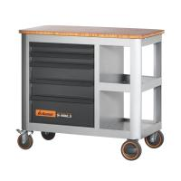 Mobile workbench with 5 drawers, can be pulled out from either side 20×16G