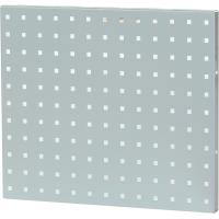 Perforated back panel single-sided