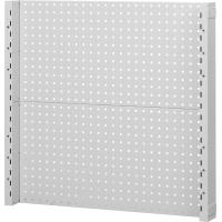 Perforated back panel (pair support columns + 2 perforated panels single-sided)  Height 962 mm