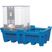 Containment tray for 1000 litre IBC without platform
