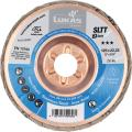 Abrasive flap disc SLTT (ZA), flat-dished for steel 125 mm ⌀
