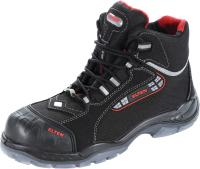 Lace-up boot, black/red SANDER PRO ESD, S3