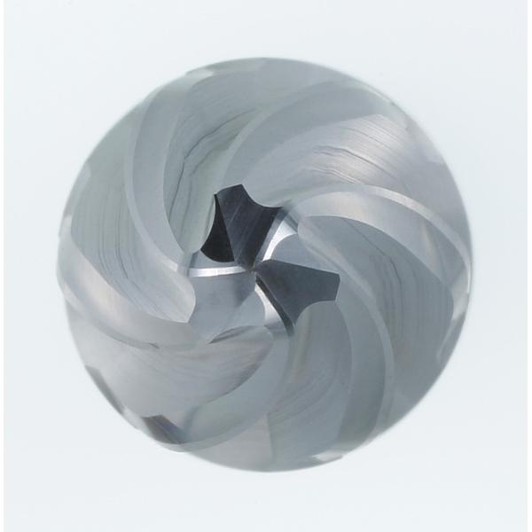 Solid carbide barrel milling cutter, conical form α/2 = 27° PPC 16/1000 mm