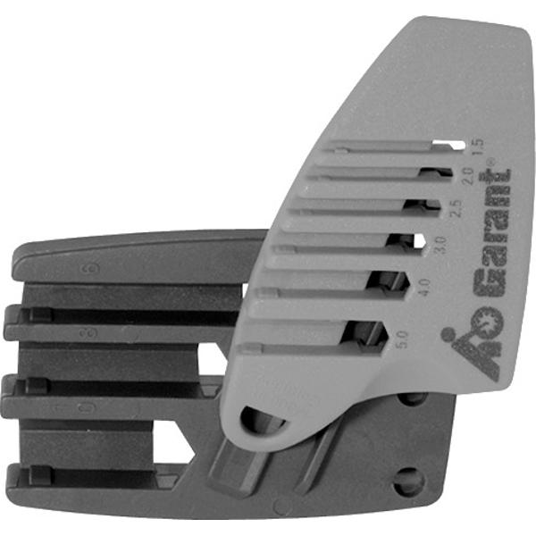 Slide-in clip for hexagon key L-wrenches  HALTER
