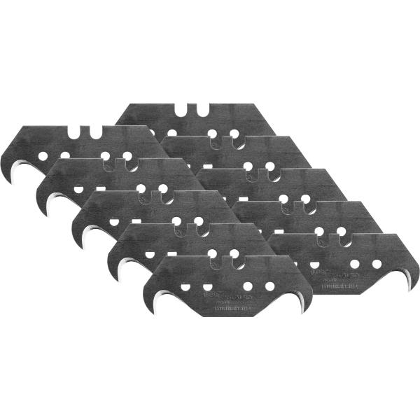 """Spare blades set, 10 pieces, hooked point """"multisharp""""  10"""