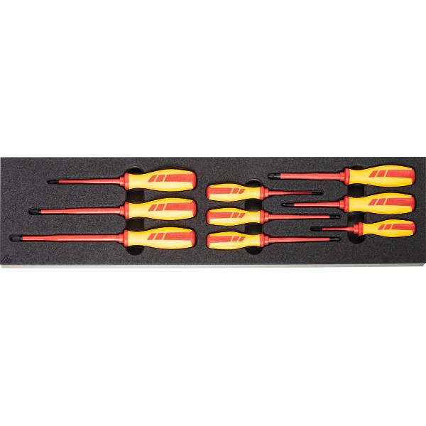 Screwdriver set, fully insulated  9