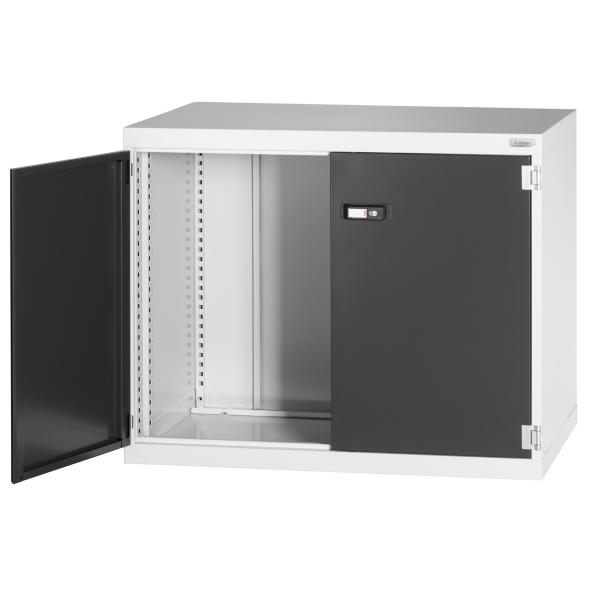 Swing-door auxiliary cabinet without anti-roll lip 800 mm