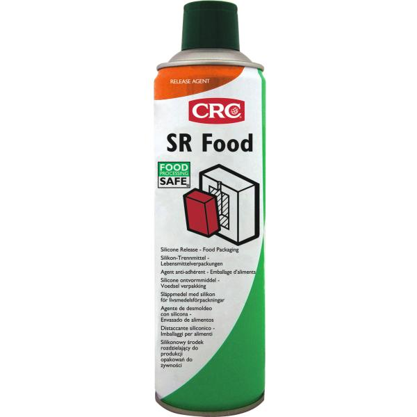 Wet film separating agent containing silicone SR Food 500 ml