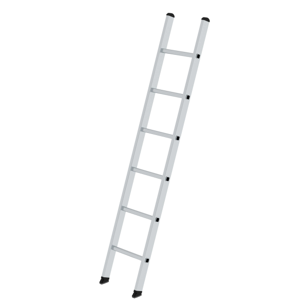 Rung straight ladder 350 mm wide without stabiliser 6 rungs