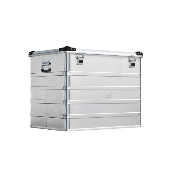 Transport boxes, stackable