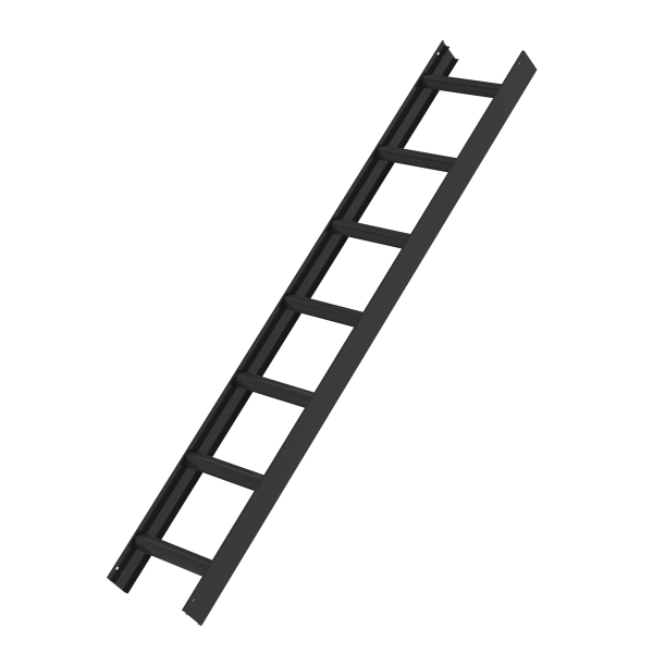 Roof ladder, anthracite grey 7 rungs