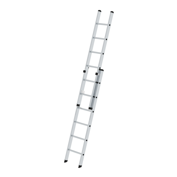 2-section rung push-up extension ladder without stabiliser 2x6 rungs