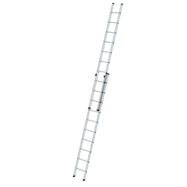2-section rung push-up extension ladder without stabiliser 2x10 rungs
