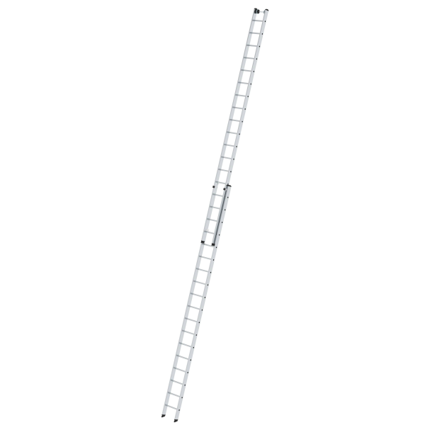 2-section rung push-up extension ladder without stabiliser 2x18 rungs