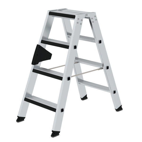 Double-sided step ladder double-sided access and relax step® 2x4 steps