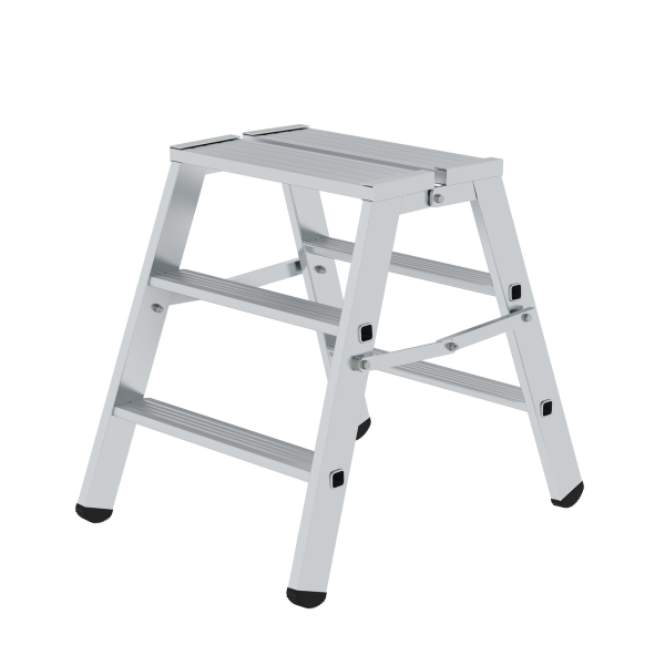Hinged platform double-sided 2x3 steps