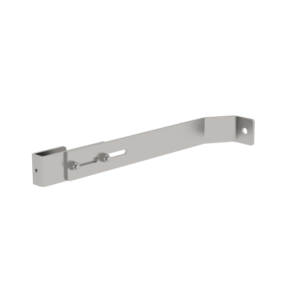 Wall anchor, adjustable, stainless steel for shaft ladder