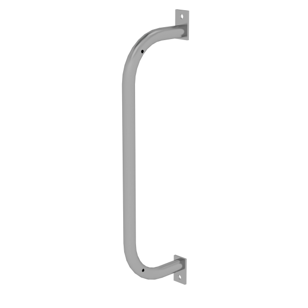 Supporting handle galvanised for vertical ladders