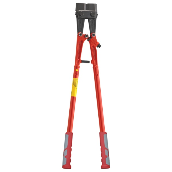Bolt cutter with interchangeable blades, red lacquered, 760 mm