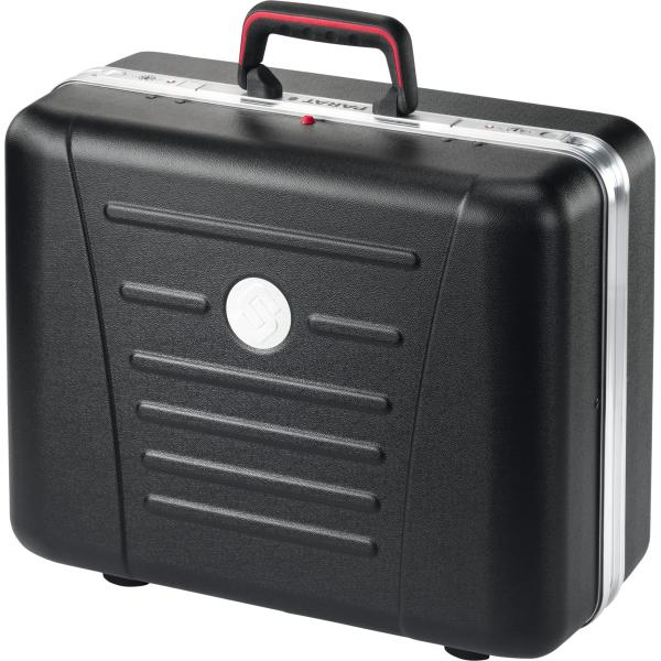 X-ABS tool case with base shell, 2 tool boards and TSA locks