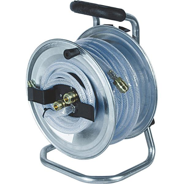 Compressed air hose reel 1/4 inch without hose  LEER