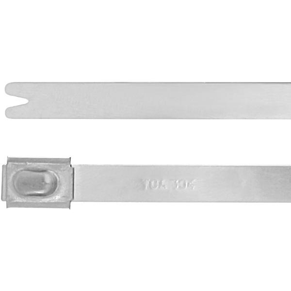 Cable tie set stainless steel  7,9 mm