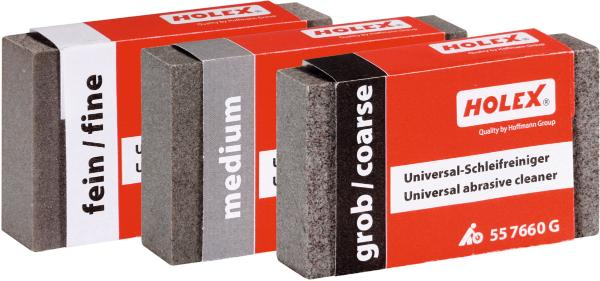 Universal abrasive cleaner set 3 pieces